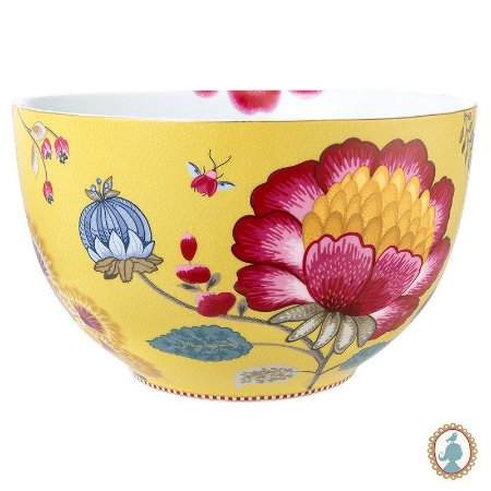 Tigela 23 Amarelo - Floral Fantasy - Pip Studio