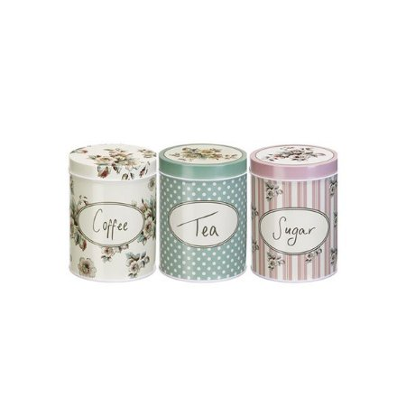 Conjunto de 3 Latas Collection Pequenas