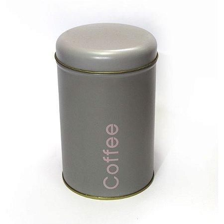 Lata Coffee Cinza