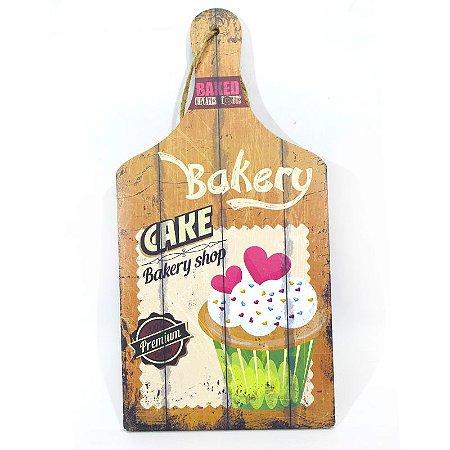 Tábua Decorativa Bakery MDF
