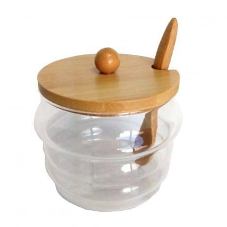 Açucareiro com tampa de Bambu - Yoi