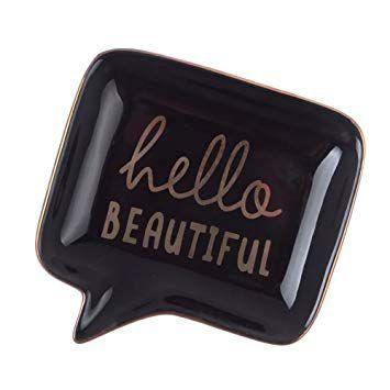 Mini Prato Decorativo Hello Beautiful