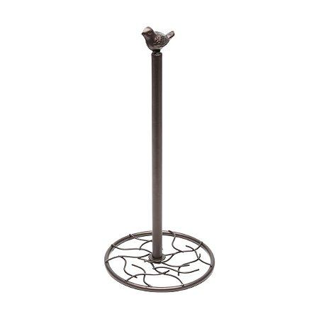 Porta Papel Toalha Ferro Bronze