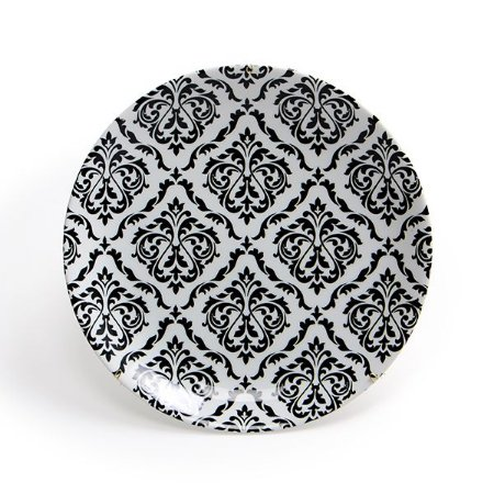 Prato Cerâmica Decorativo Arabesco 28 cm
