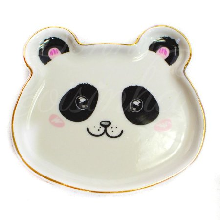 Mini Prato Decorativo Ursinho Panda