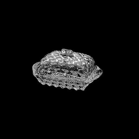 Manteigueira de Cristal de Chumbo Pinneaple