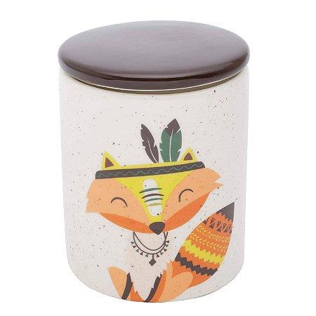 Pote Porcelana Granilite Apache Fox - Raposa