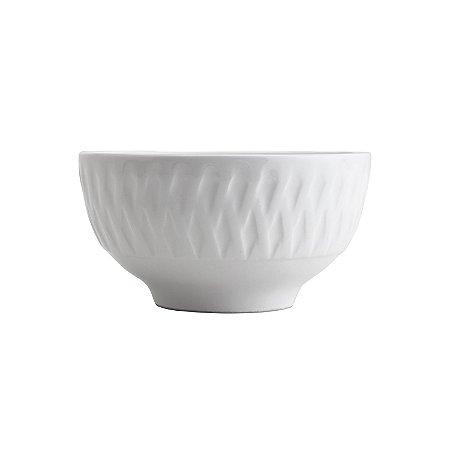 Bowl de Porcelana Ballon Branco - Lyor