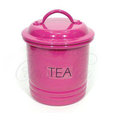 Lata Canelada Para Chá Pink