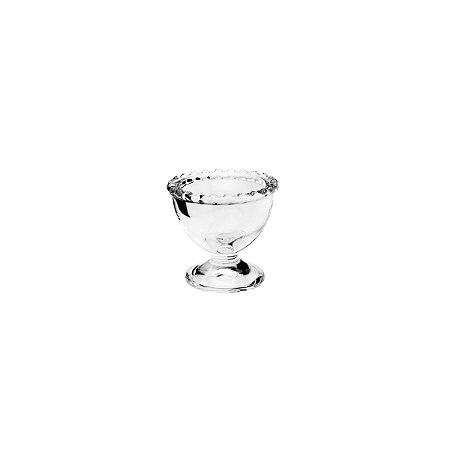 Porta Ovo de Cristal de Chumbo Bolinhas Pearl