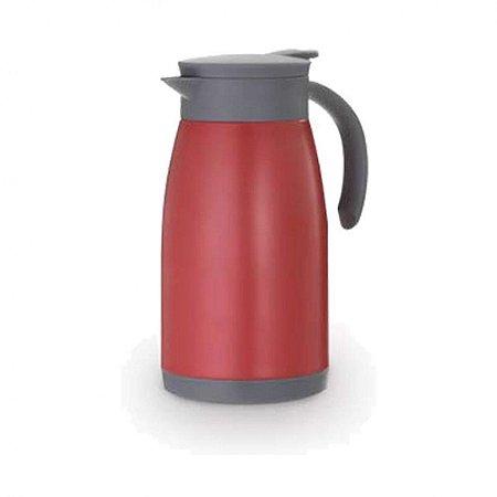 Garrafa Térmica Parede Dupla Vermelha - 1 Litro
