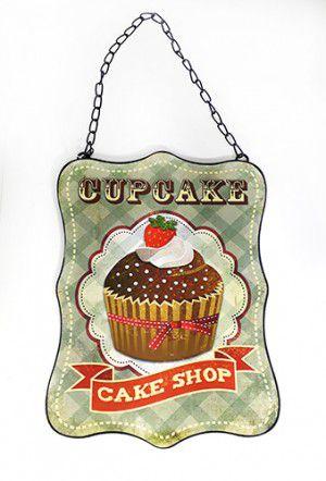 Quadrinho Decorativo Cake Shop