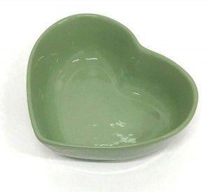 Travessa de Coração Verde 500ml