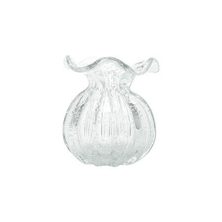 Vaso de Vidro Sodo-Cálcico Flat Italy  11 cm - Lyor