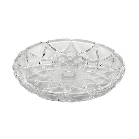 Prato de Cristal de Chumbo 18,5 cm - Deli