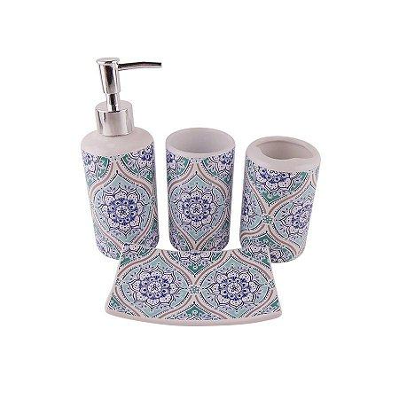Kit para Banheiro Mandala