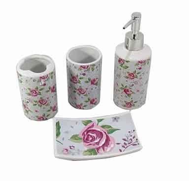 Kit para Banheiro - Floral