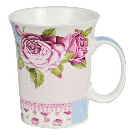Caneca Floral Rose