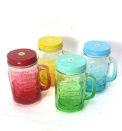 Caneca Mason jars