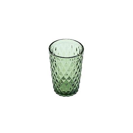 Conjunto de 6 Copos Bico de Abacaxi Verde - Lyor