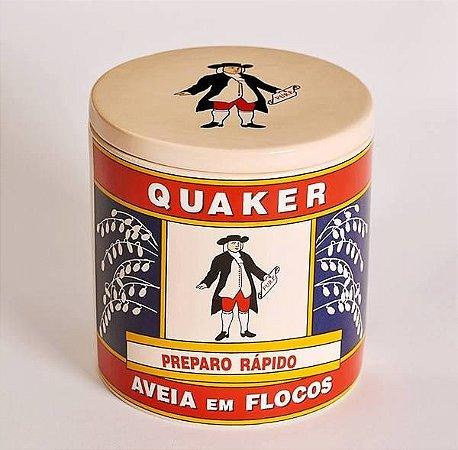Pote de Cerâmica - Aveia Quaker Pequeno