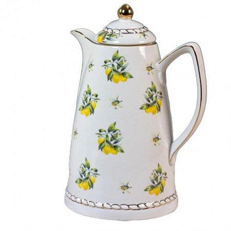 Garrafa Térmica de Porcelana Lemon - Wolff