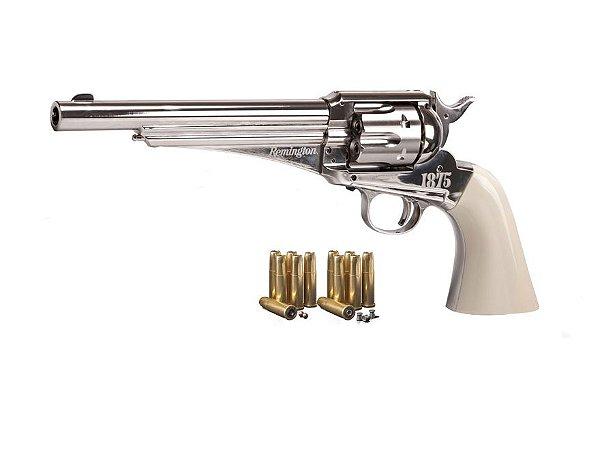 Revólver De Pressão 4,5mm Remington Crosman Rr1875 - Co2