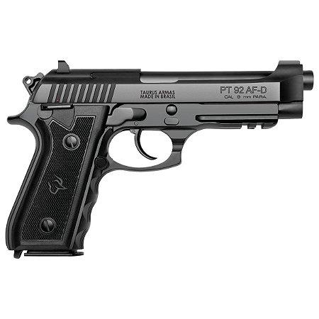 """Pistola Taurus 92 - 9mm - 5"""" -17+1 Tiros - Tenef/Info"""