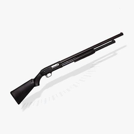 Espingarda Boito BSA 5T 84 PUMP cal 12 com coronha PP ou Pistol Grip - Oxidada