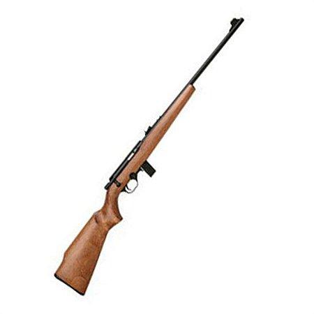 """7022 Rifle CBC Madeira Semiautomático - Cal. 22LR - Cano 21"""" - 10 Tiros - Oxidado"""