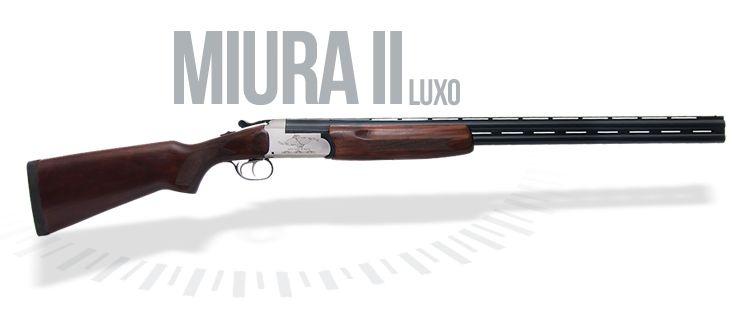 Espingarda Boito Miura II Std/LX/SuperLX Cal. 12/20/28/36