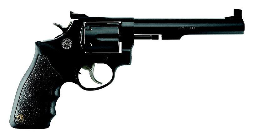 """Revolver Taurus RT86 Cal.38SPL - 6"""" - Cabo De Borracha - 6 Tiros - Oxidado"""