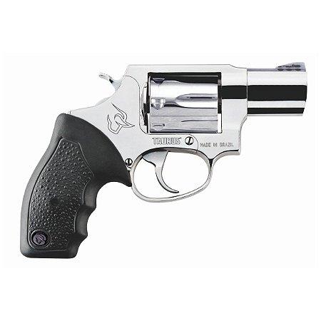 "Revolver Taurus RT817 Cal.38SPL - 2"" - Cabo De Borracha - 7 Tiros - Inox Alto Brilho"