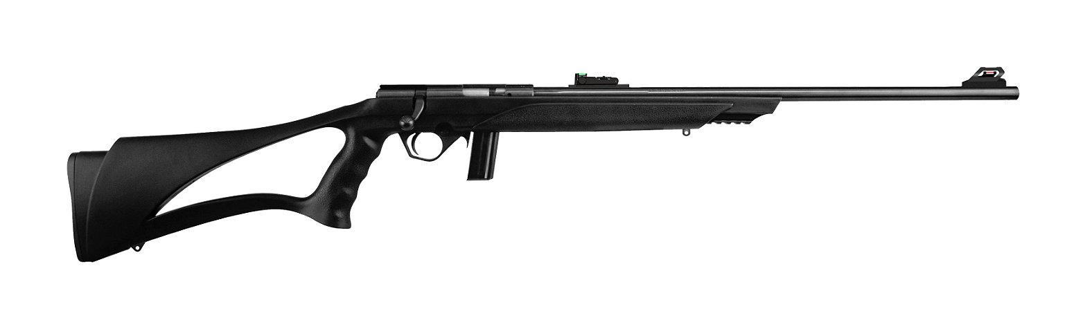 """8122 Rifle CBC Coronha de Polipropileno Cal. 22LR - Cano 23"""" - 10 Tiros- Oxidado"""