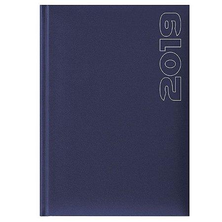 Agenda de Mesa Semanal Pombo 17,2 X 24,0 cm Matra Azul Escuro