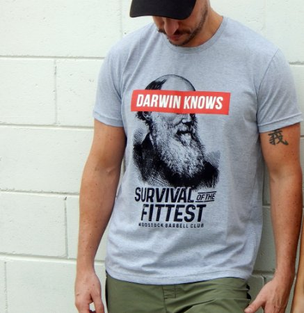 Camiseta Wodstock Survival of the Fittest