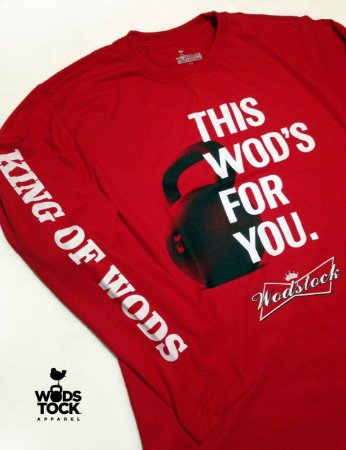 Camiseta Manga Longa This wod is for you