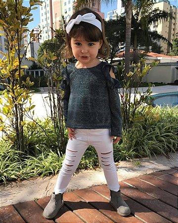Legging e faixinha white |Chiara
