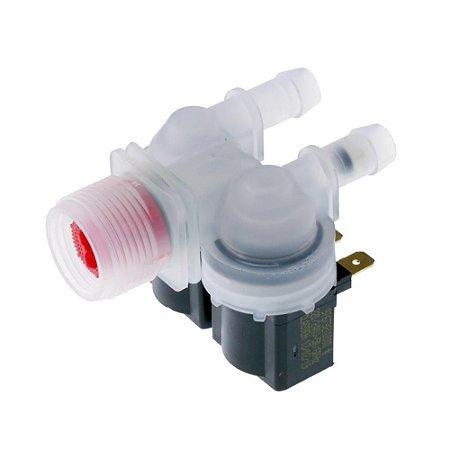Válvula Entrada Dupla Compatível Lavadora Electrolux Lm08 Lf90 Lf80 Lm06 Lte09 220V