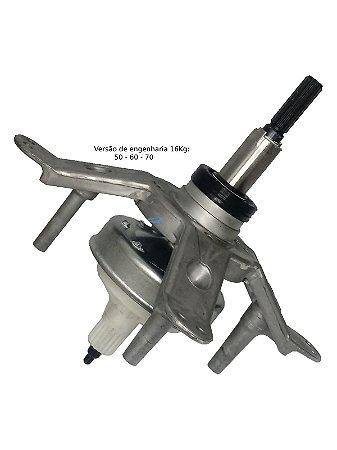 Mecanismo Lavadora Brastemp Consul Original com Suporte e Retentor Cwl16 Cwh14 Bwk14
