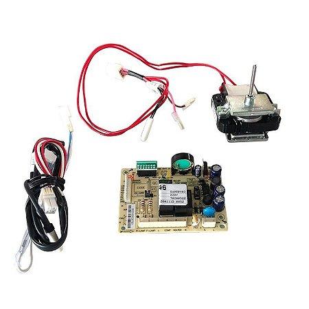 Kit Placa Geladeira Electrolux Df46 70001454 220v