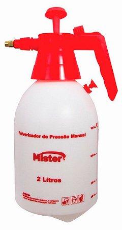 Pulverizador Com Pressão 2L Mister
