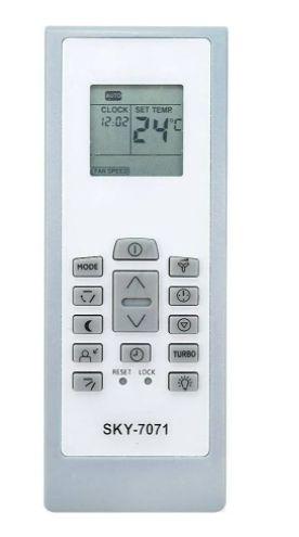 Controle Remoto Ar Condicionado Split Rg01 Bgef Elbr Electrolux
