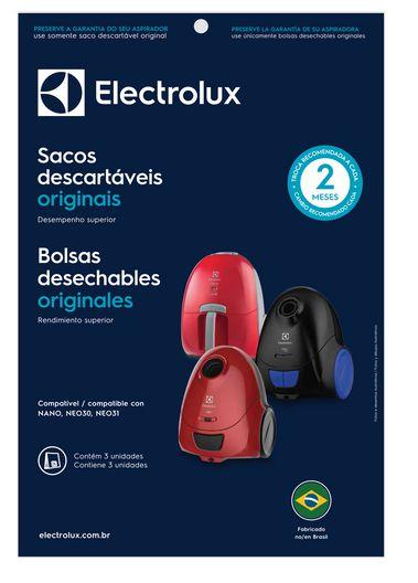 Saco Descartável Do Aspirador Nano, Neo30 E Neo31 Electrolux