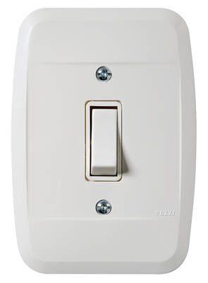 Interruptor 1 Tecla 10A 250V