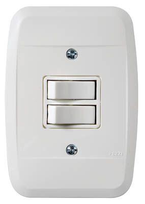 Interruptor 2 Tecla 10A 250V