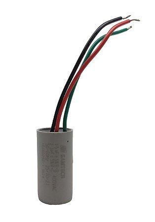 Capacitor 1,5Uf 3 Fios Ventilador De Teto Mister