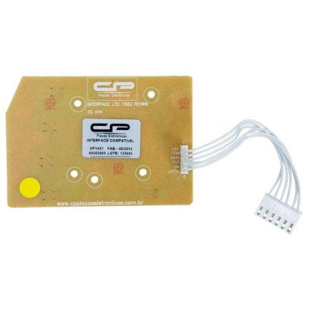 Placa Interface Compatível Lavadora Electrolux Ltc10, Lt12F, Lt15F, Ltd09, Ltd11, Ltd13 Ltd15 Bivolt