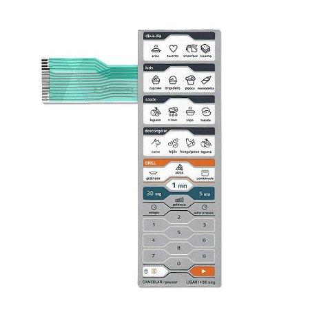 Membrana Compatível Microondas Midea Mtag31 Mtag32 Grill