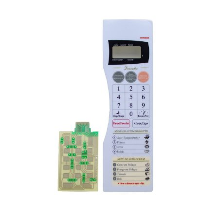 Membrana Compatível Microondas Panasonic Nng43 Relevo